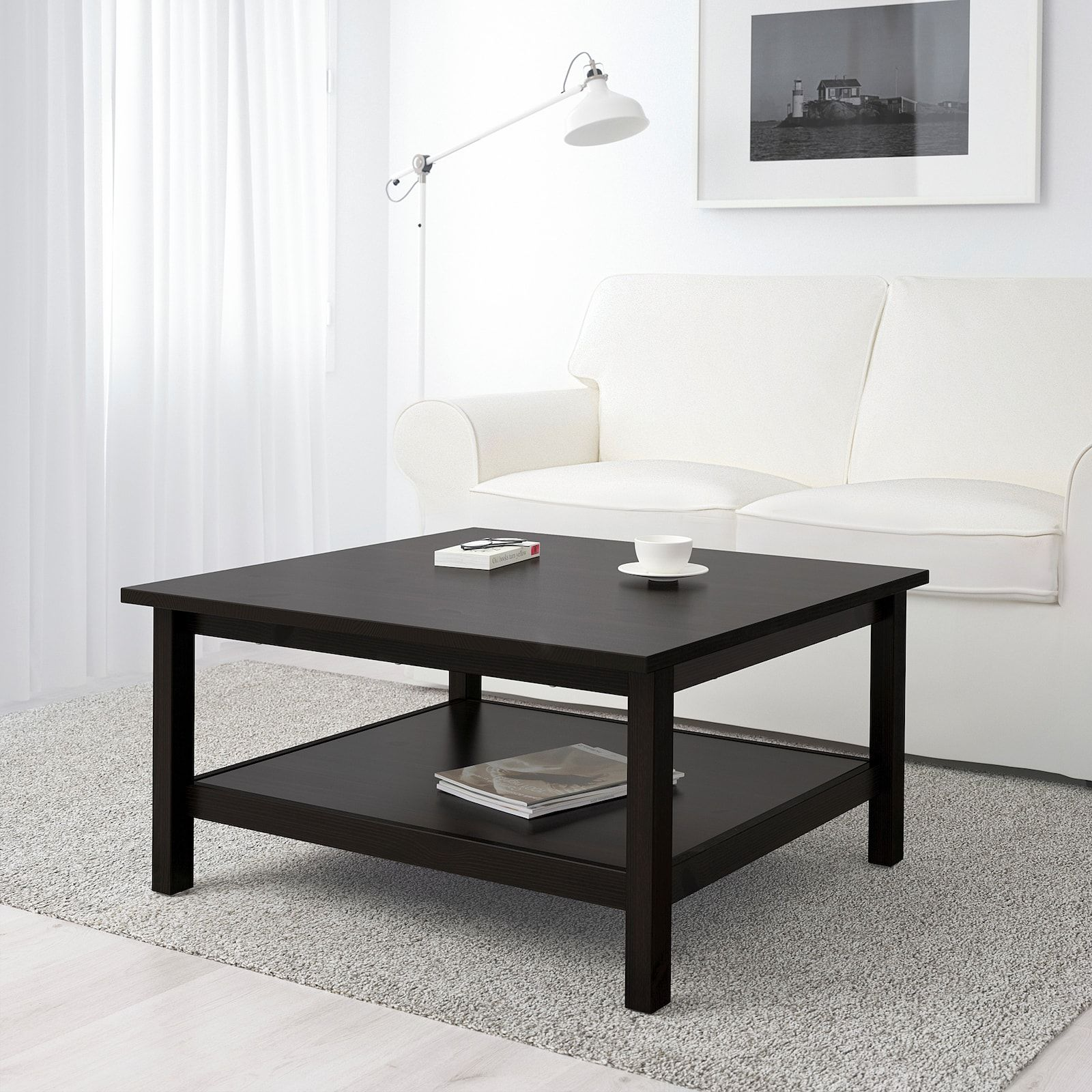 IKEA LACK Coffee table, black brown