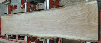 8/4 Red Oak Live Edge Slab - 972