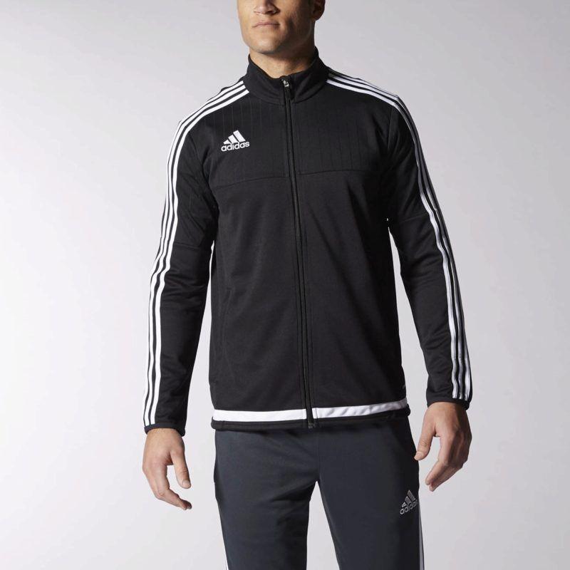 adidas Tiro 15 Training Jacket - Black adidas US  giftryapp  86a5c1e33358