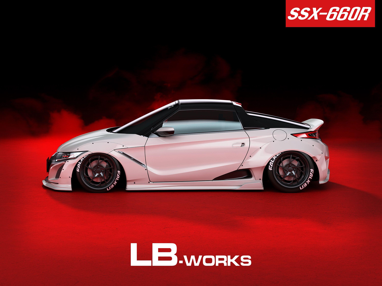 new body kit lb works ssx 660r liberty walk リバティーウォーク