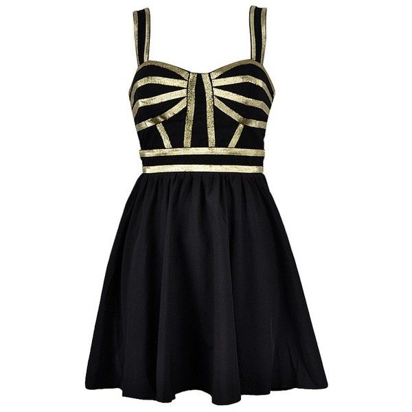 Gold Trim Skater Dress Dresses Dress To Impress Gold Sequin Dress