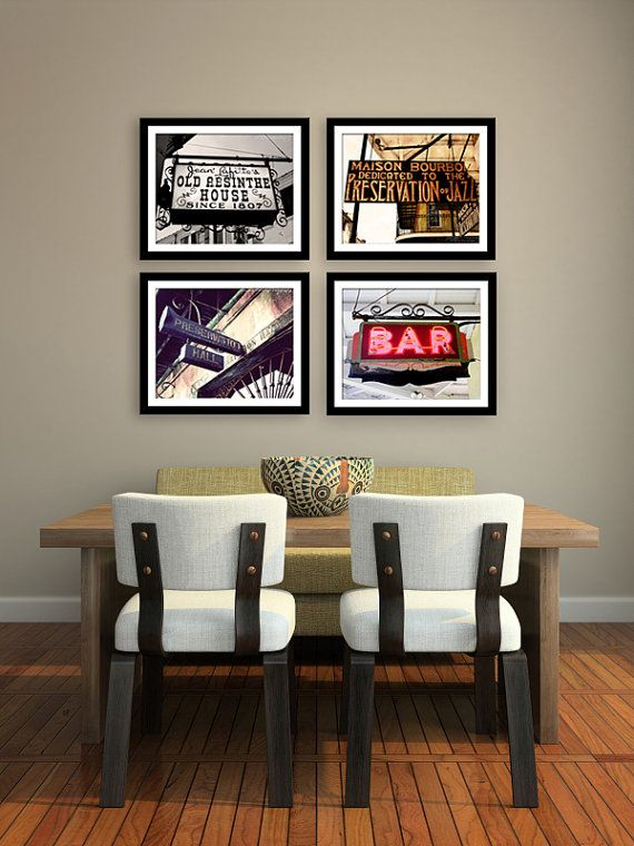 Marvelous Save 20%, New Orleans Photography Collection, Four Fine Art Prints, Bar  Signs, Kitchen Art, Bar Room