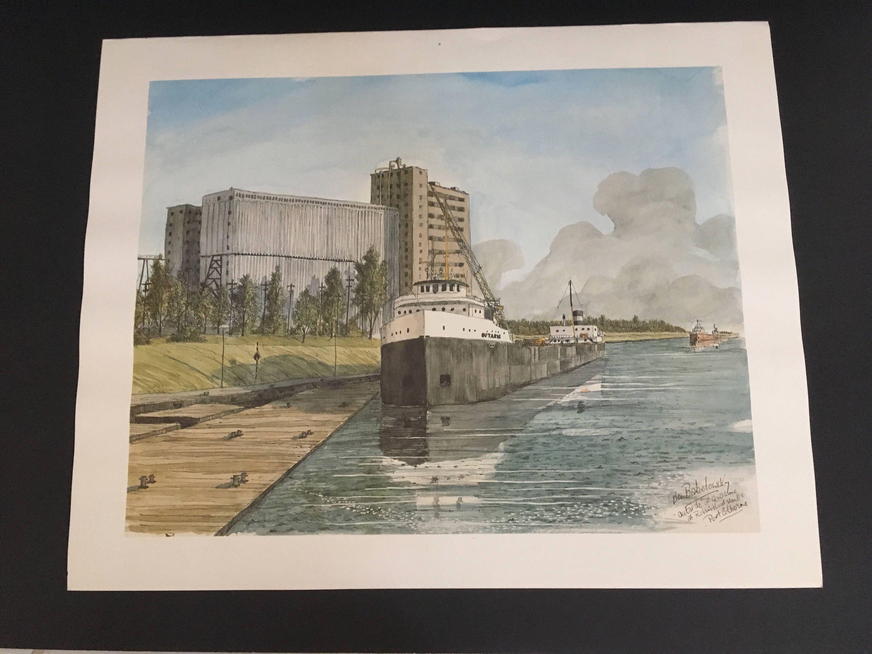 Ben Babelowsky Color Prints Signed Vintage Niagara Falls