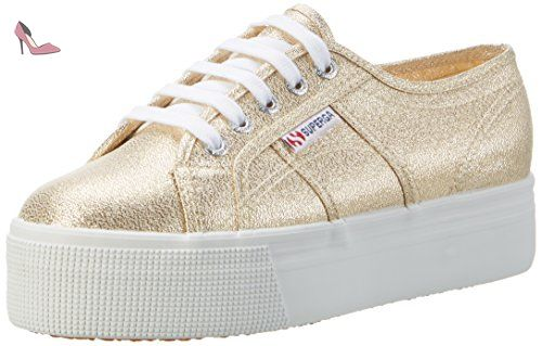 SUPERGA baskets basses de la plate-forme S009TC0 chaussures 340 2790 LAMEW taille 36 Platine Chaussures Little Mary Casual fille  Gris (Moon Rock) Chaussures kaki femme  Ballerines Bride Arriere Femme VfkY38nSo