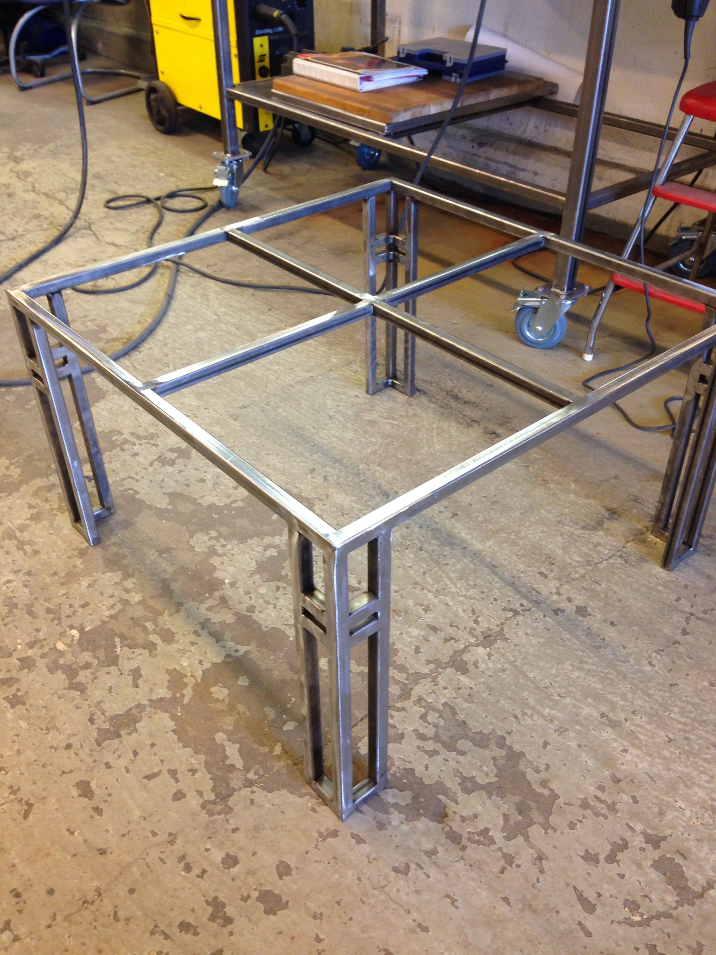 Muebles Hierro Y Madera Welding Table Welding Projects Muebles Mesa Muebles Hierro Y
