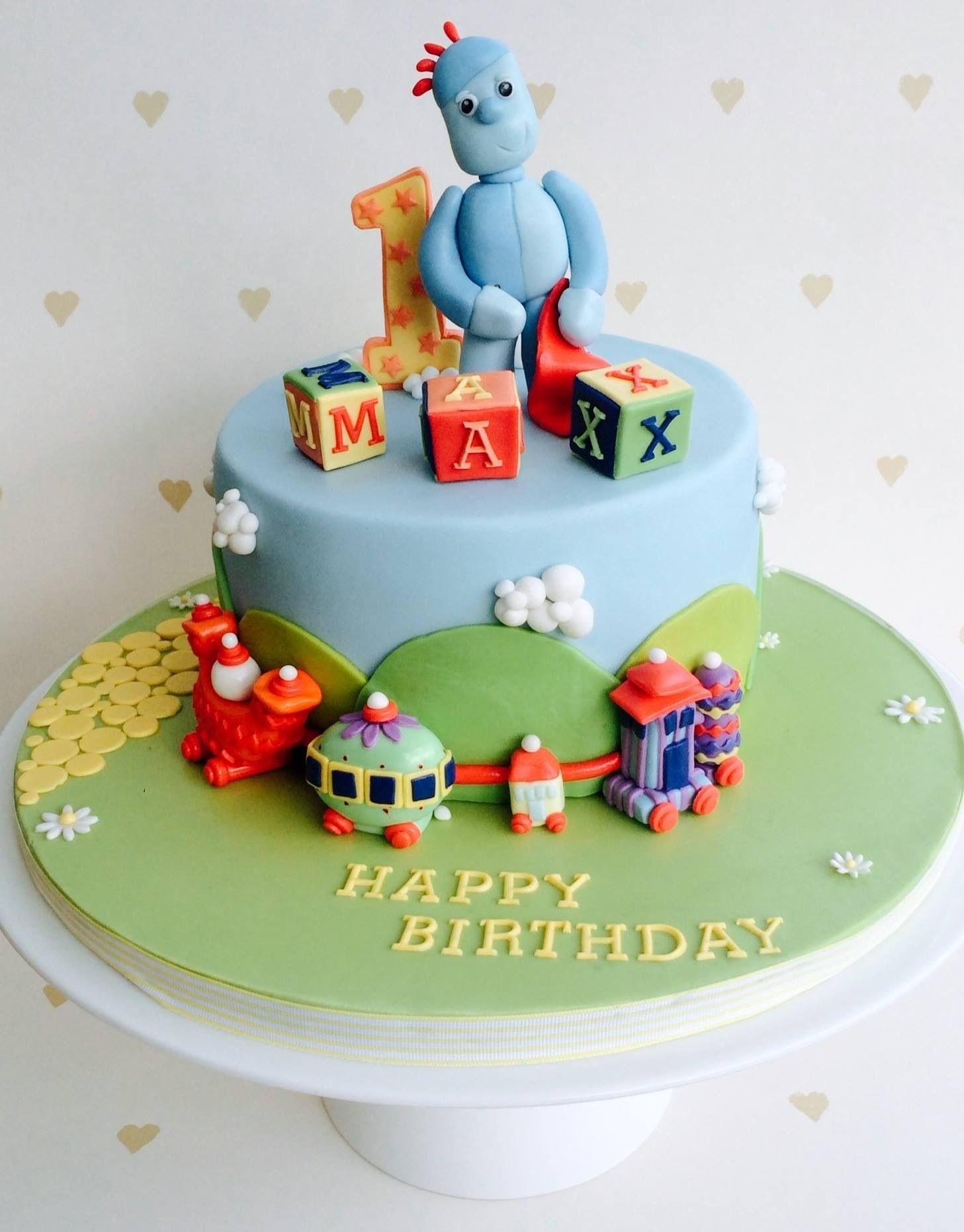 In the night garden 1st birthday cake... #igglepiggle #birthday ...