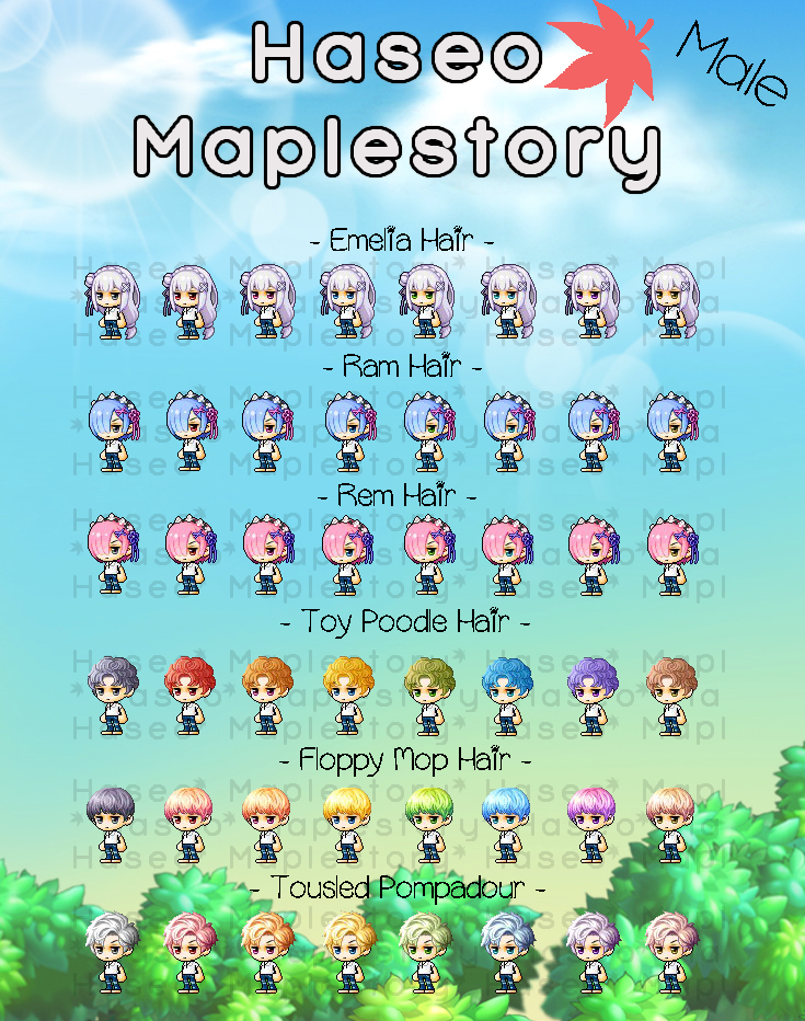 Gms Male Royal Hair March 25 2020 Haseo Maplestory In 2020 Poodle Hair Mens Hairstyles Pompadour Male