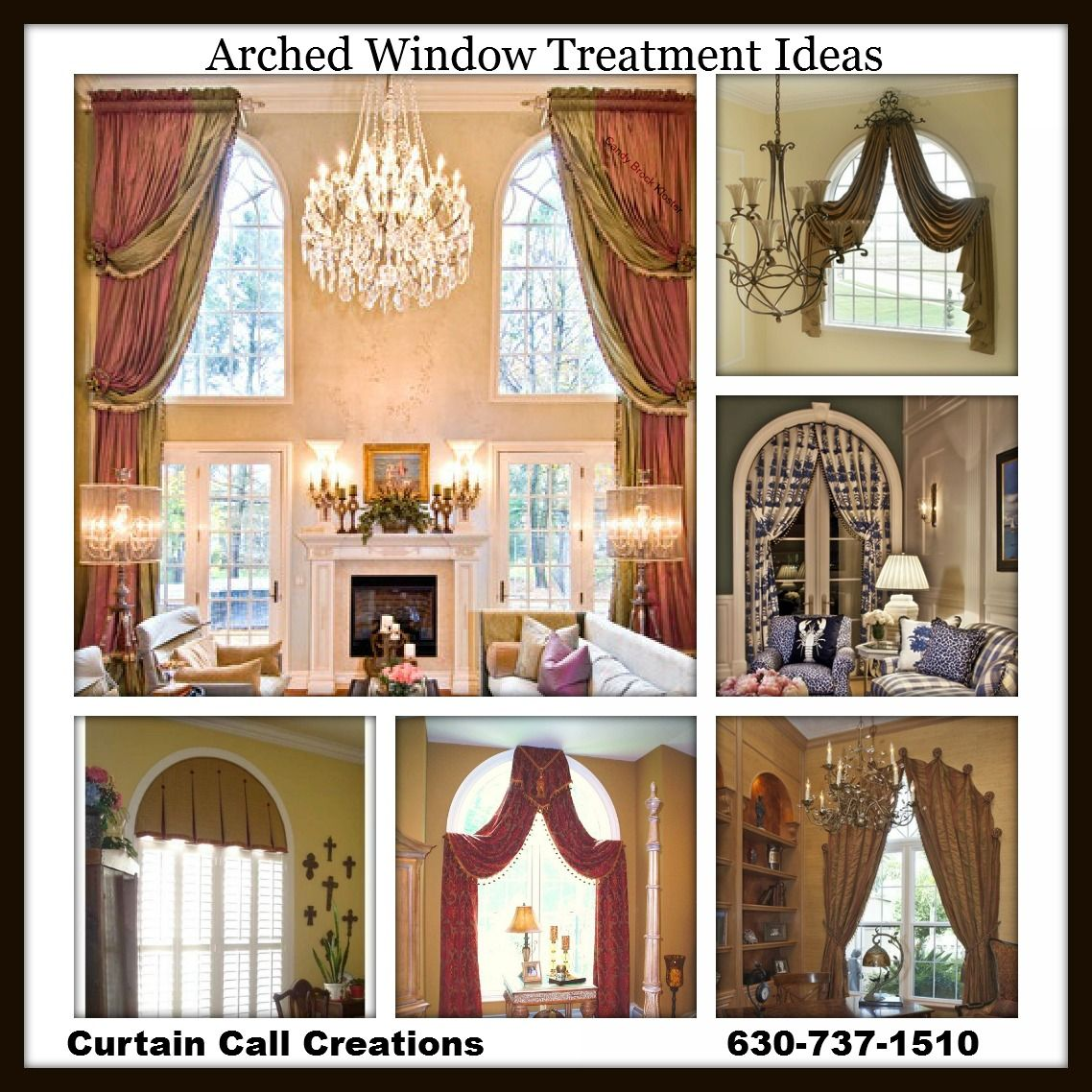 Spannende Fensterdeko Gardinen Ideen Erlene Window Treatments Arched Window Treatment Ideas Bottom Middle Pic For Two