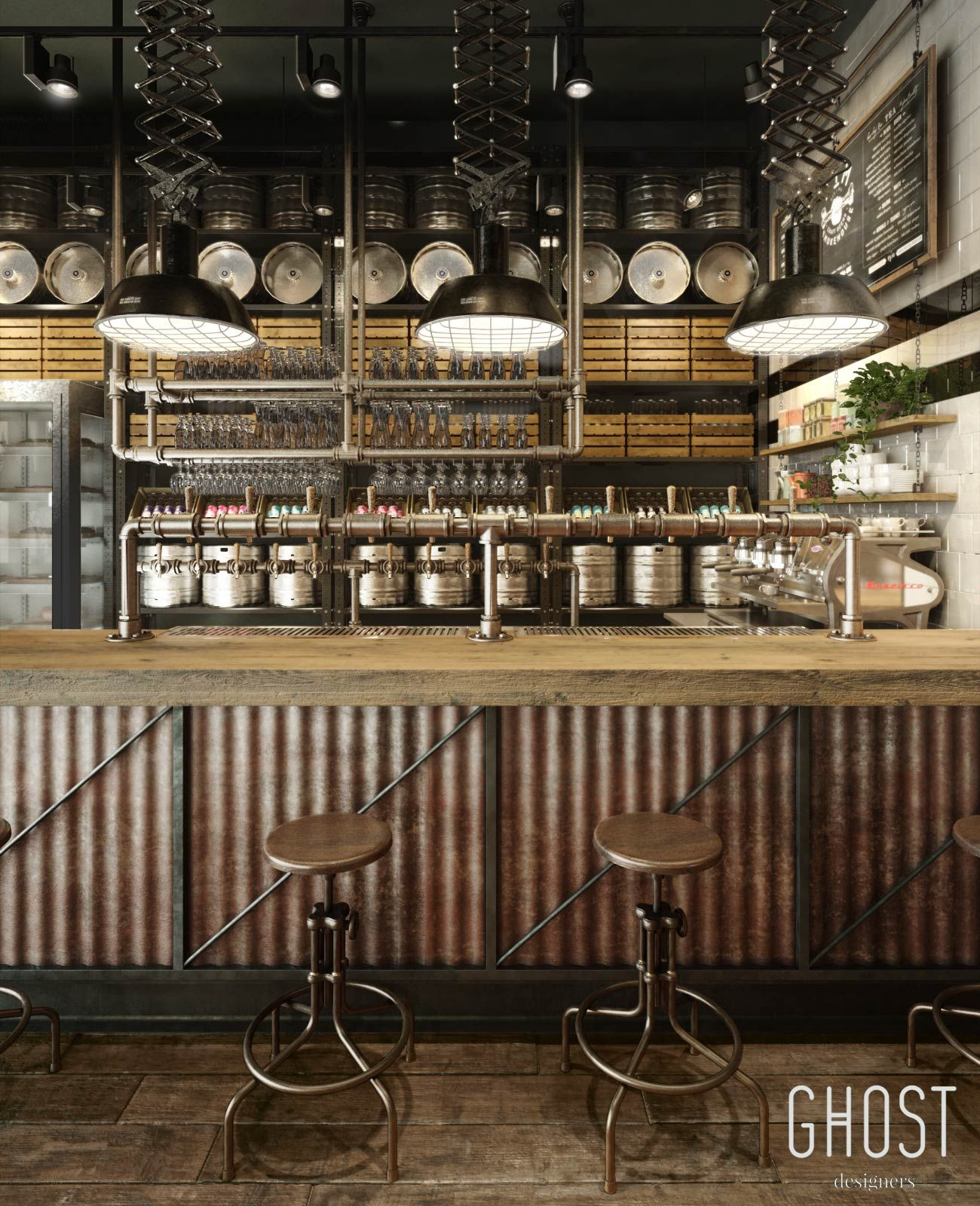 Interior Design Ideas For Home Bar: Smokehouse Restaurant In 2019