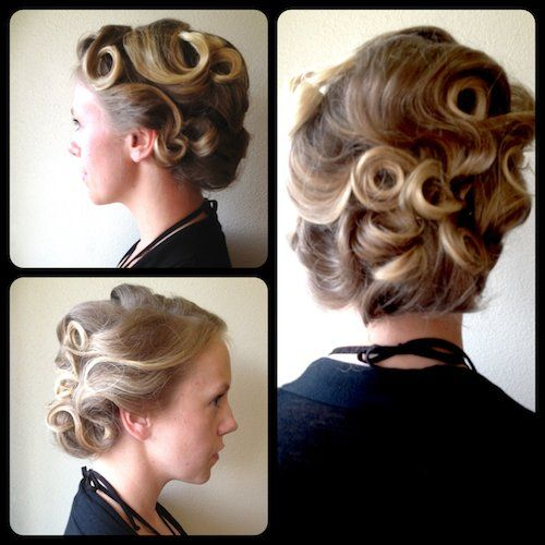 1930s updo yelp my style pinterest updo 1930s updo yelp pmusecretfo Image collections