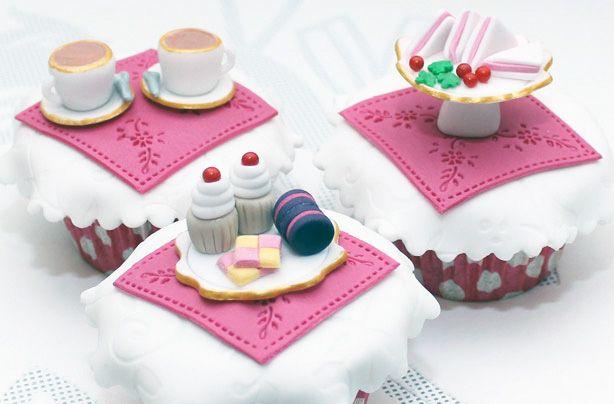 Tea party cupcakes recipe - goodtoknow. These are sooo cute. Yum yum.