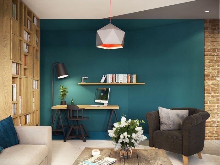 wohnideen farbe dekor, awesome einrichtungsbeispiele wohnideen dekoideen geometrie farbe, Design ideen