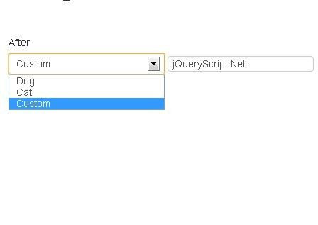 Custom Select Dropdown Jquery
