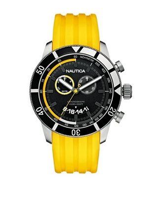 Nautica Orologio Cronografo Giallo