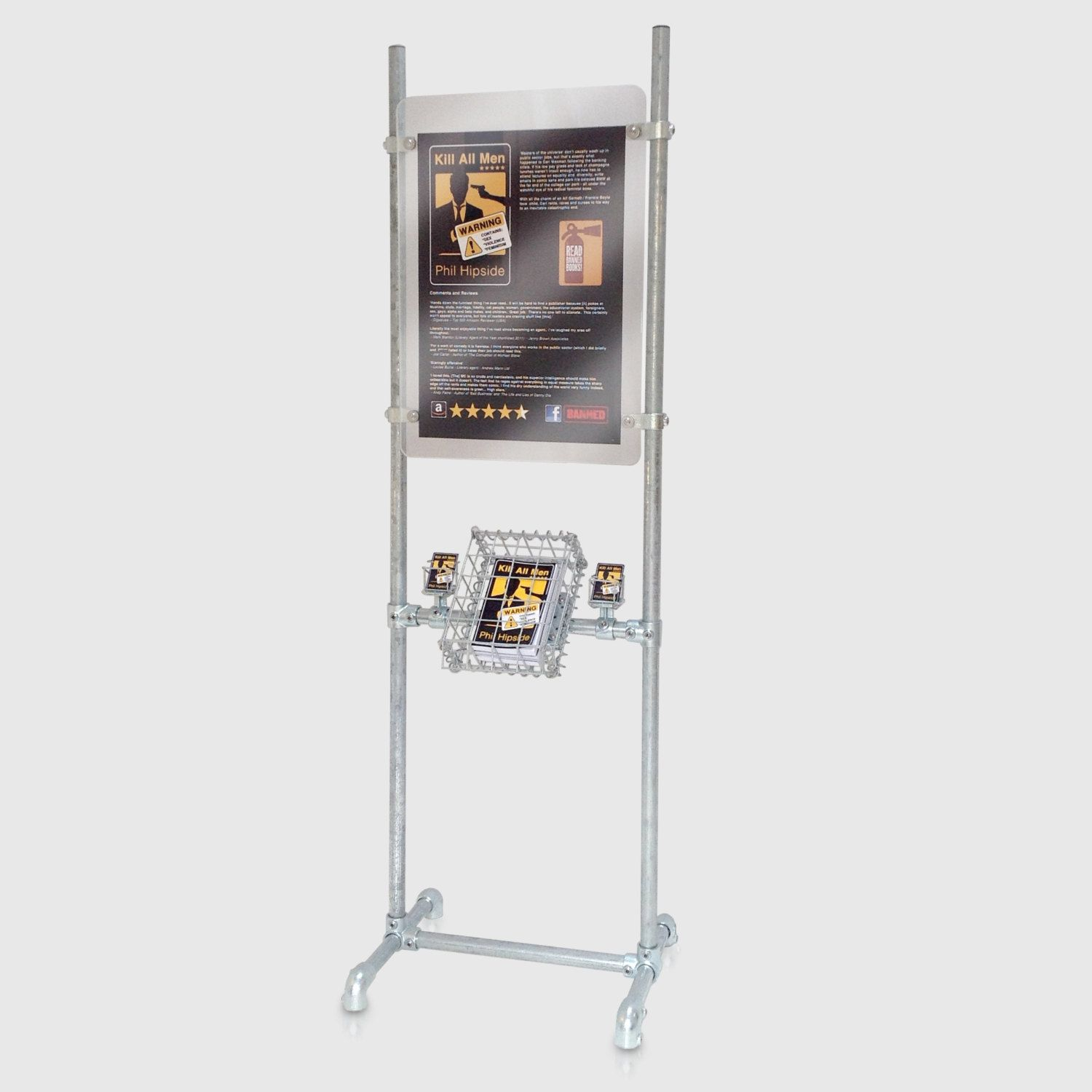 Exhibition Stand For Sale : Product display stand for trade show or shop with poster