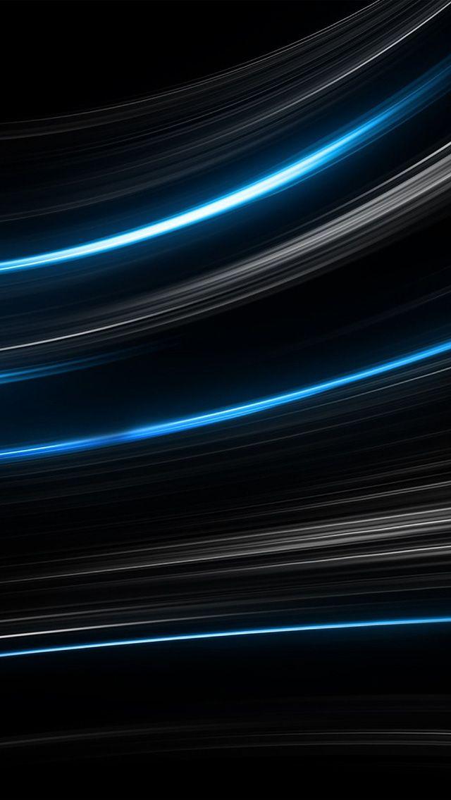 Vo28 Curve Abstract Line Dark Blue Pattern Black Wallpaper Black And Blue Wallpaper Blue Wallpapers