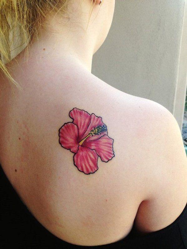 Tatouage Fleur Hibiscus Venez Découvrir Avec Nous Les Plus