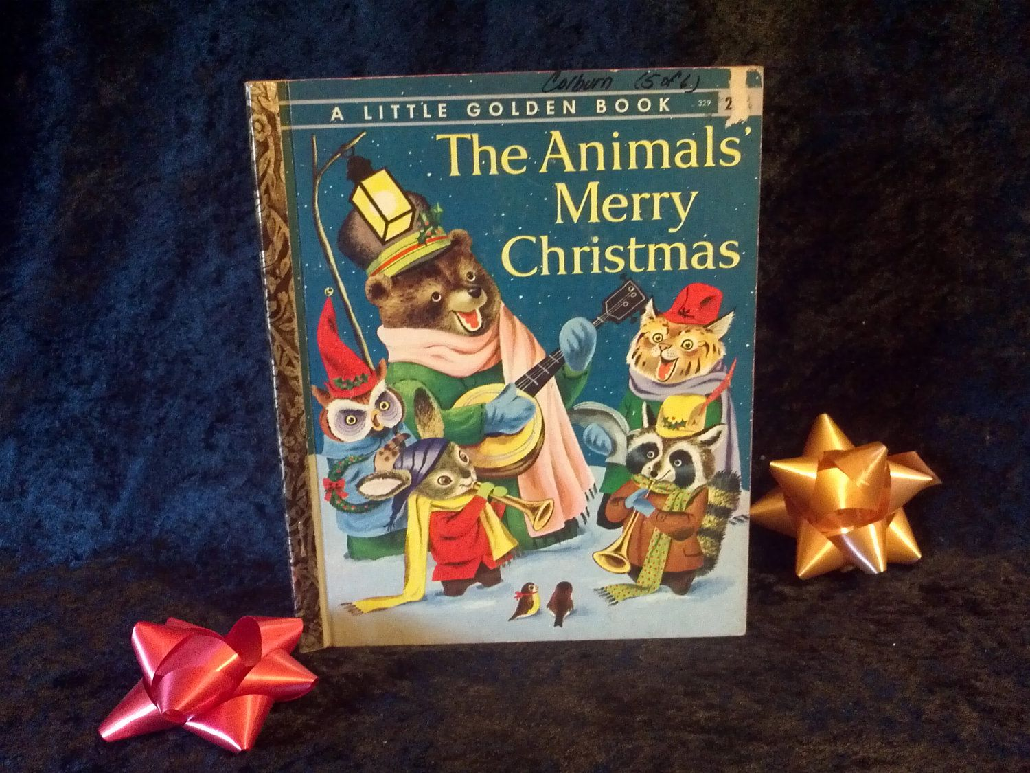 The+Animals+Merry+Christmas++A+Little+Golden+by+DecrepitudeAplenty,+$10.00