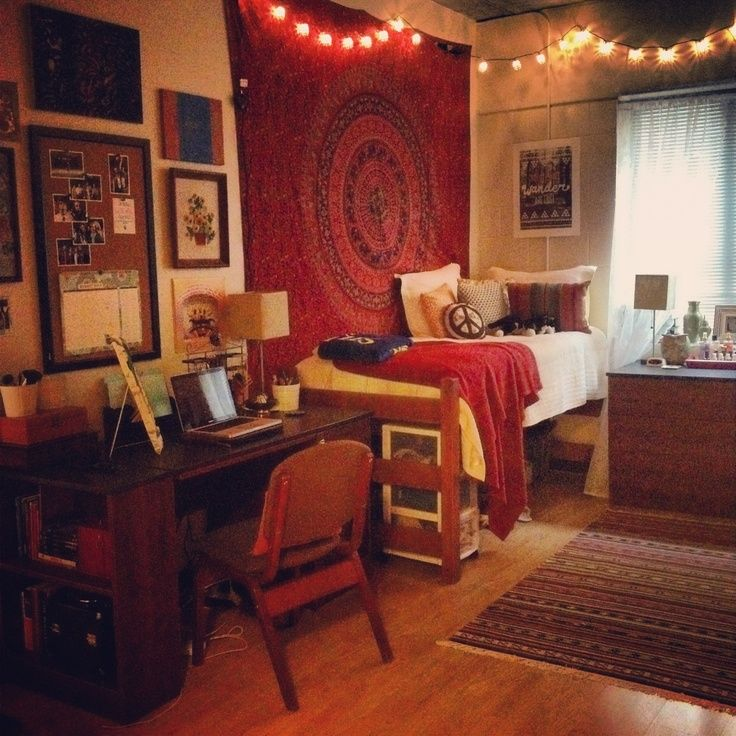 Delightful Bohemian Dorm Room For College. Who Says Your Dorm Has To Be Boring? Part 25