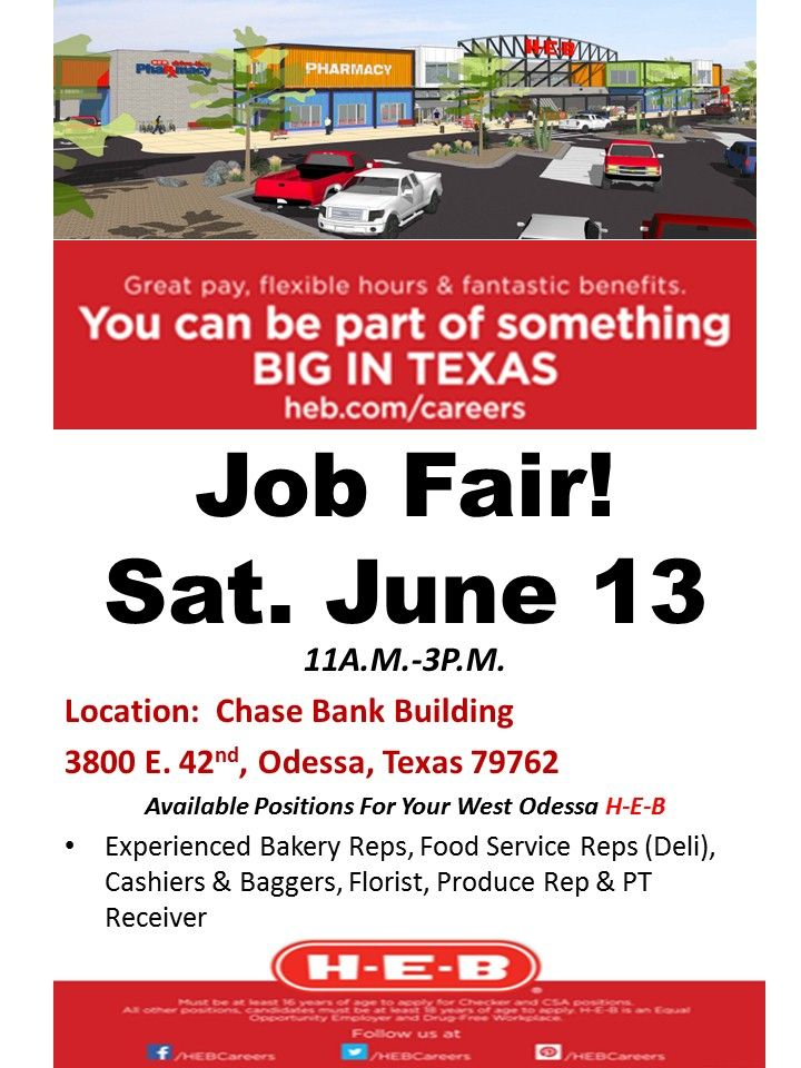 our odessa 2 store is now hiring  u0026 will be hosting a job