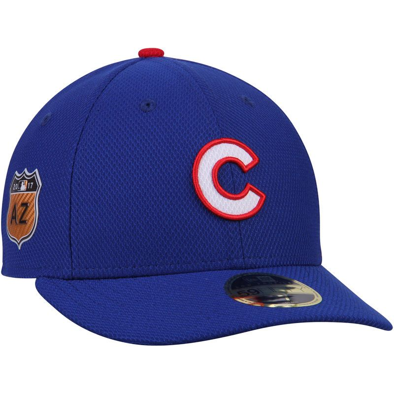 547058fd Chicago Cubs New Era 2017 Spring Training Diamond Era Low Profile ...