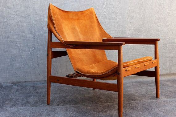 Hans Olsen Mid Century Modern Chair 1950 S Scandinavian Teak