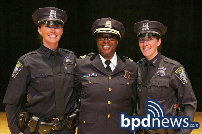 Ladies Lead The Way At Boston Police Academy Graduation Police Academy Police Academy Graduation Boston Police Department
