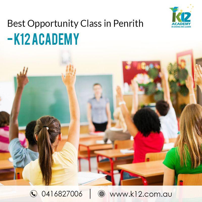 Opportunity Class in Penrith – K12 Academy K12 academy