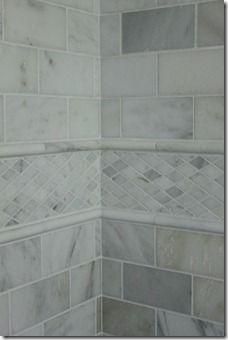 Meg The Martin Men Master Bathroom Revealed Master Bathroom Marble Bathroom Carrera Marble Bathroom