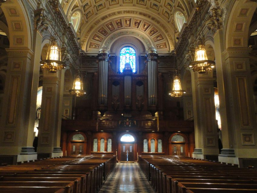 Philadelphia, PA Cathedral Basilica of Saint Peter and