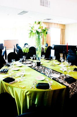 Green and black wedding decorations my black and white with a green and black wedding decorations my black and white with a splash of apple green wedding weddings junglespirit Image collections