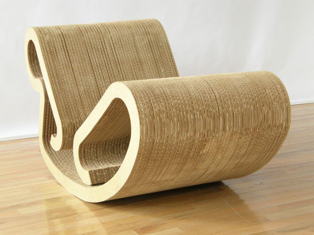 frank gehry cardboard furniture  Поиск в google  object design  - furniture · frank gehry
