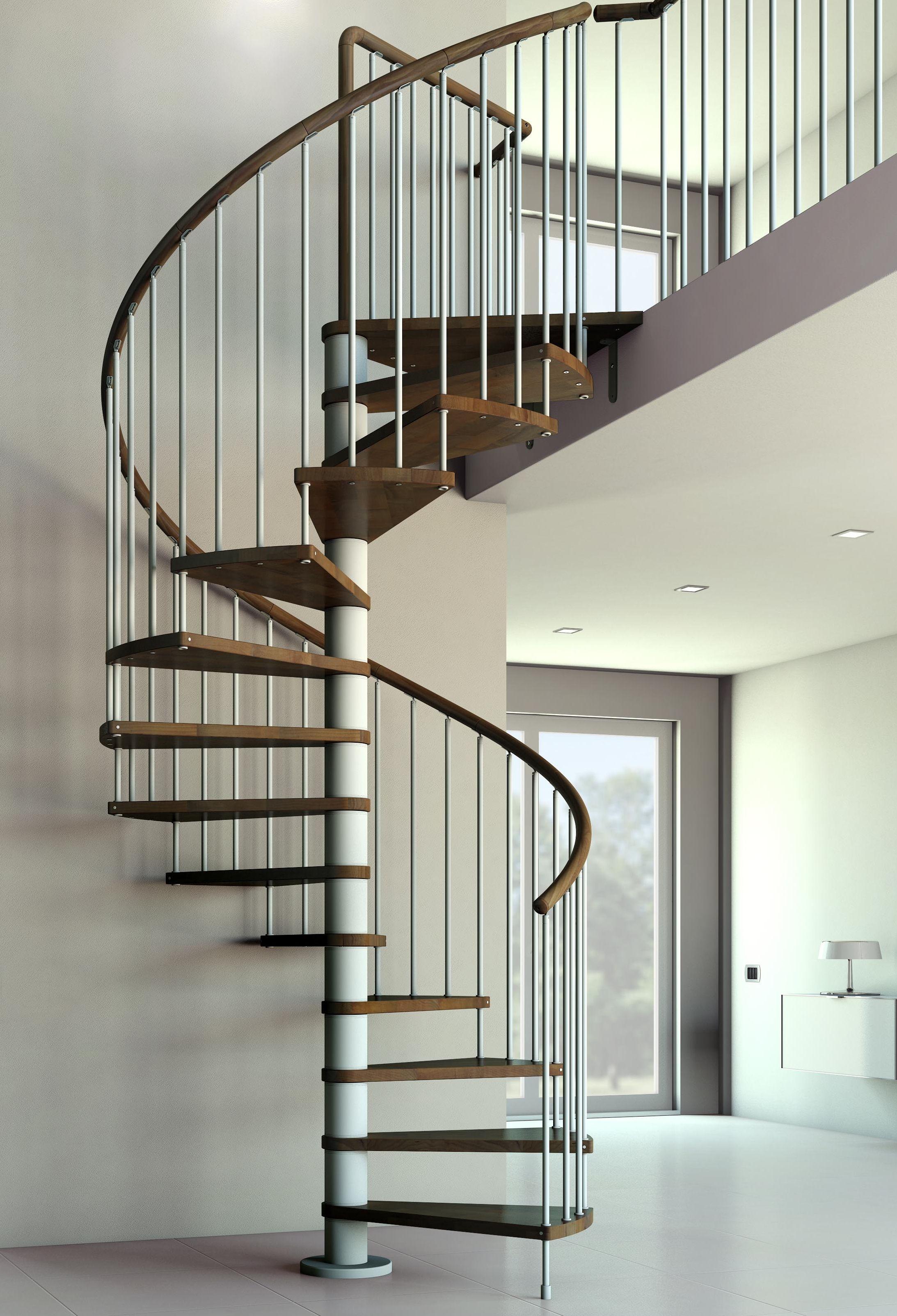 Escaleras de caracol interiores escalera caracol metalica - Escaleras de caracol de madera ...