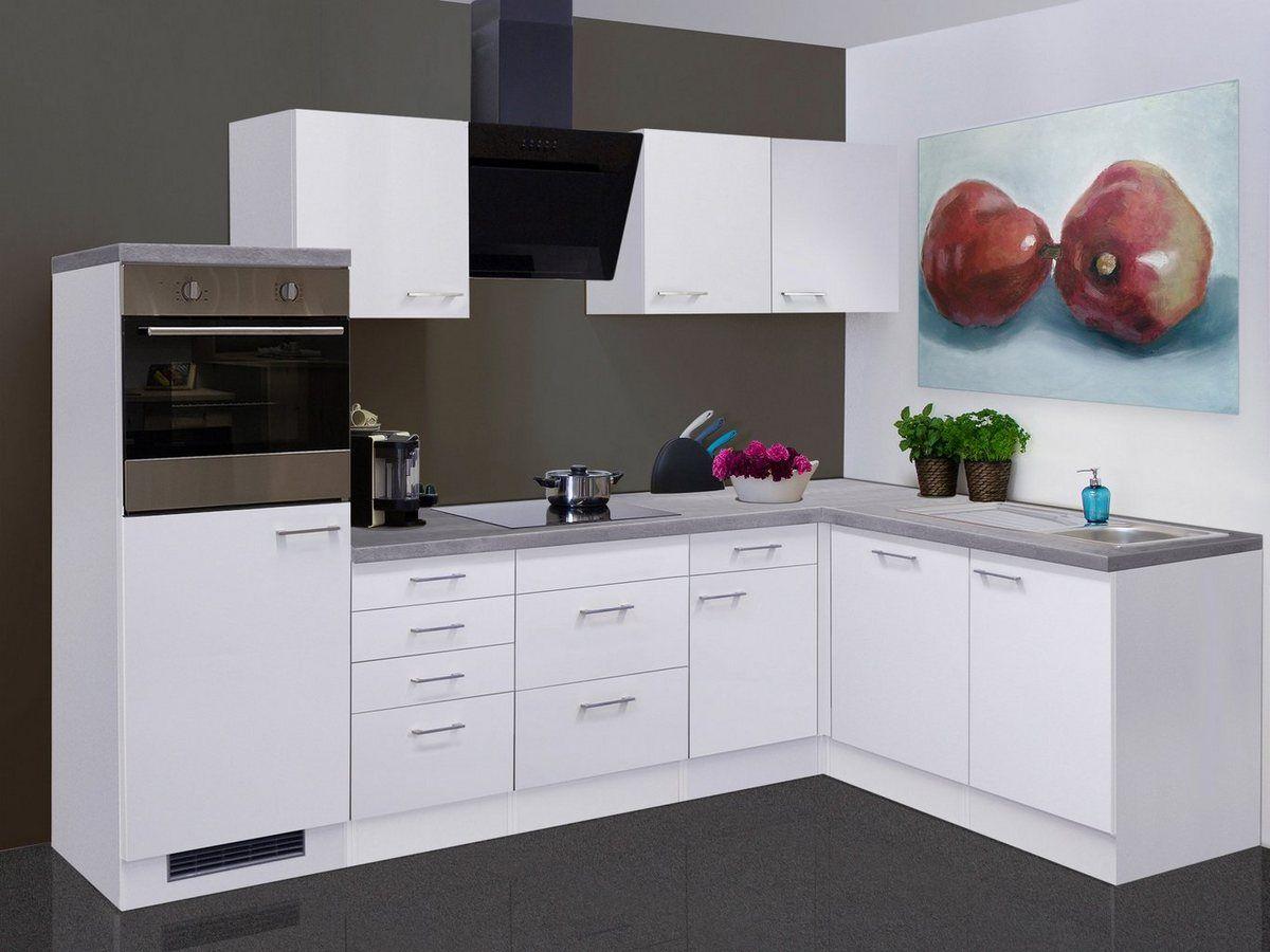 Kuchenzeile Mit E Geraten Kopenhagen Gesamtbreite 280x170 Cm Online Kaufen Winkelkuche Einbaugerate Kuchenzeilen