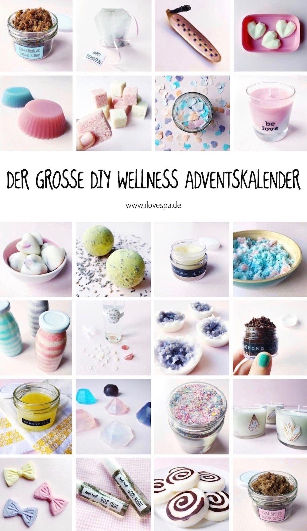 Der große DIY Wellness Adventskalender - 24 DIY Wellness Geschenke
