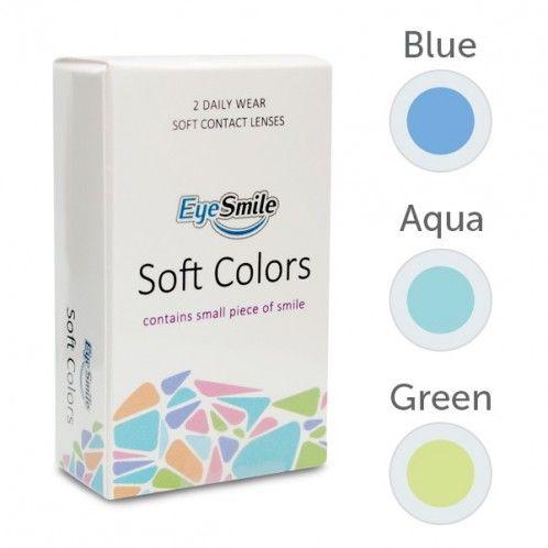 b721cf4f0ef6f EyeSmile Soft Colors acu krāsu paspilgtinošās kontaktlēcas ...