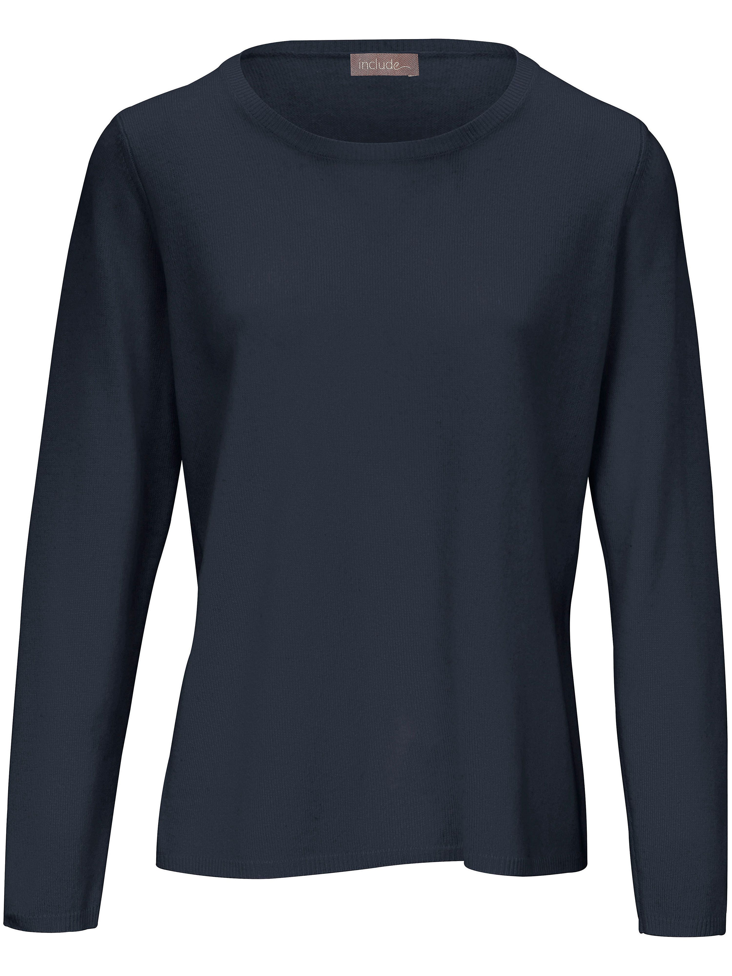 Le pull laine vierge et cachemire include bleu taille 42  8a5904adf12