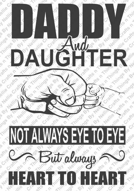 Daddy and Daughter SVG by CraftsnThingsByNelly on Etsy ...