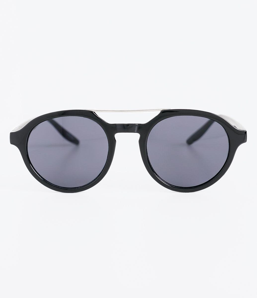 ff8b36ccd00c7 Óculos de sol Modelo redondo Hastes em acetato Lentes em acrílico Proteção  contra raios UVA
