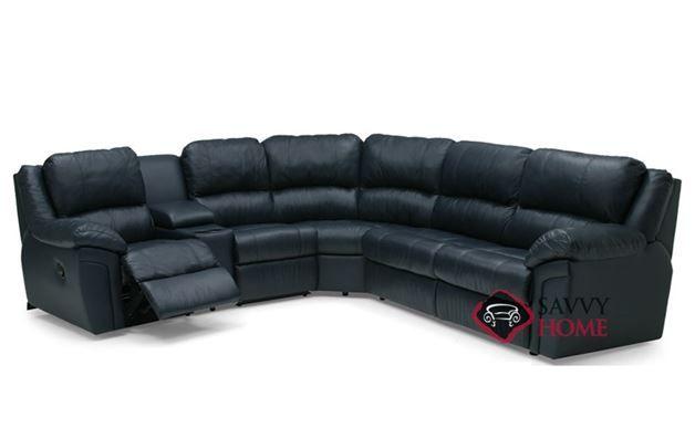 Brilliant Daley Large Reclining True Sectional Top Grain Leather Sofa Customarchery Wood Chair Design Ideas Customarcherynet
