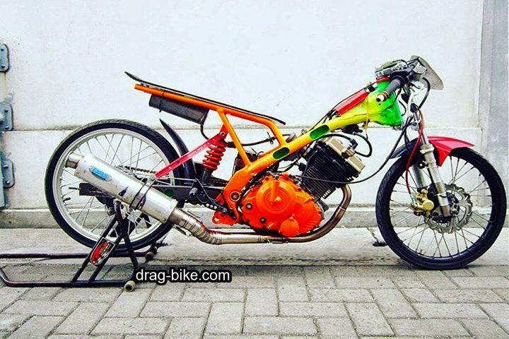 Drag Motor Satria Fu 250cc Papan Mantap Satria Fu Drag Bike