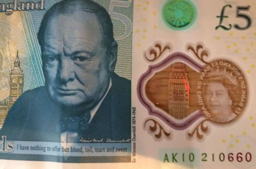 5 Pound Note Ak10 Rare Serial Number Genuine New Polymer By Bank Of England