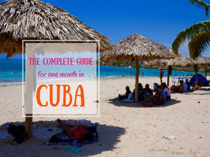 This is the most incredibly detailed one month itinerary for Cuba. This Cuba guide will tell you where to go, how to get there & what to see.