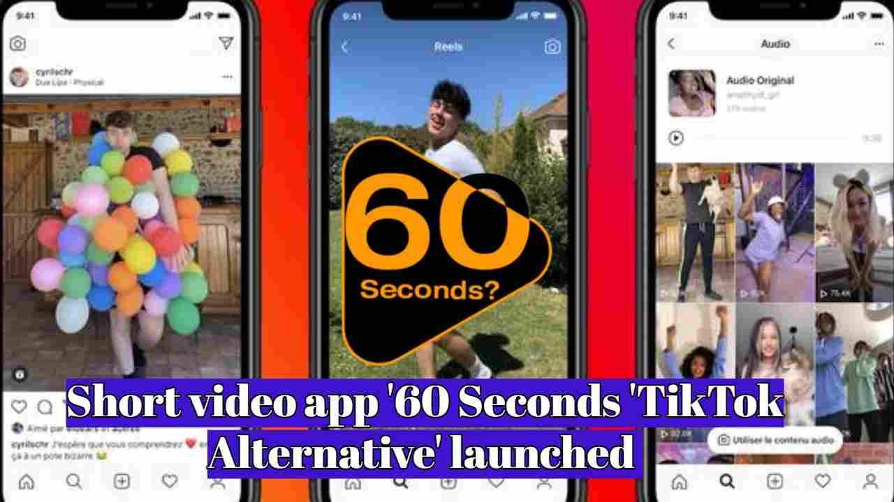 Short Video App 60 Seconds Tiktok Alternative Launched Video App App Video