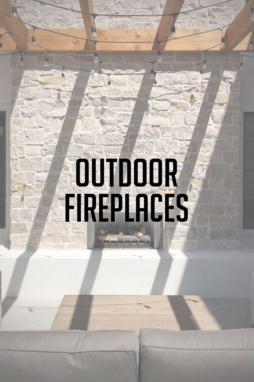 Modern Stone Veneer Exterior Backyard Landscaping Outdoor Patio Fireplace Stone Veneer Exterior Natural Stone Veneer Stone Veneer