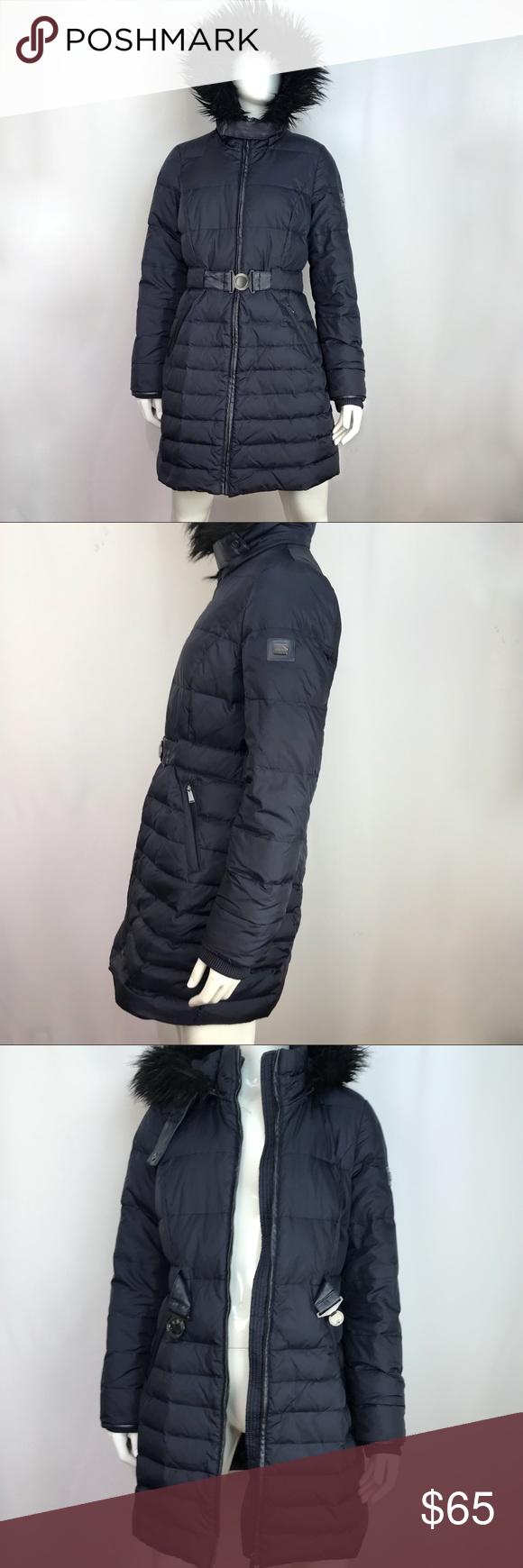 Dkny Navy Blue Hooded Coat Utility Parka Jacket Dkny Navy Blue Hooded Coat Utility Parka Faux Fur Removable Jacket Sz M In Pr Hooded Coat Parka Jacket Jackets [ 1740 x 580 Pixel ]