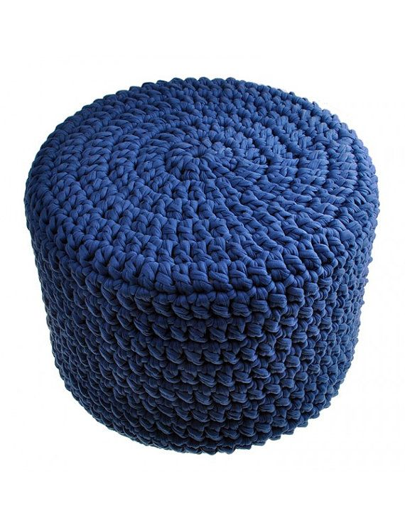 Cylinder upholstery foam for pouf and footstool by Bobbiny on Etsy