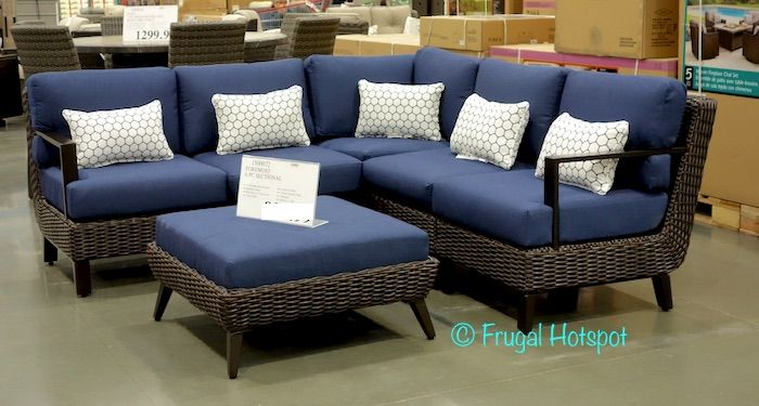 Superbe Foremost Melrose 6 Piece Woven Seating Set. #Costco #FrugalHotspot | Outdoor  Furniture, Grills U0026 Accessories | Pinterest