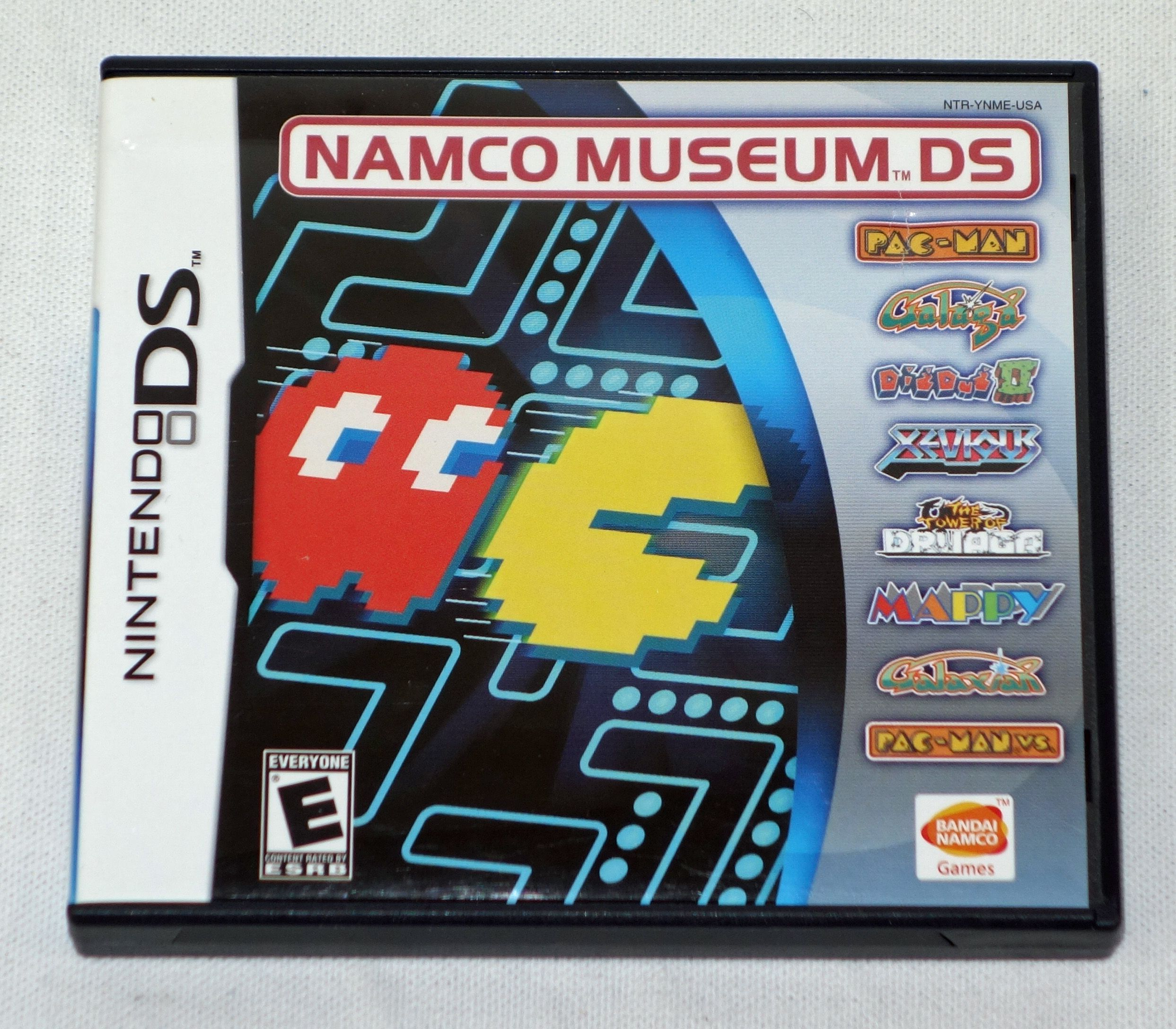 namco museum nintendo ds game 8 games in one includes case rh in pinterest com nintendo ds games manuals pdf nintendo ds game manual scans