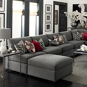Best Grey Living Room Sectional Switch The Red For Purple 400 x 300